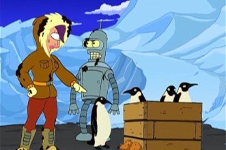Futurama: S03E05: The Bird-bot Of Ice-catraz