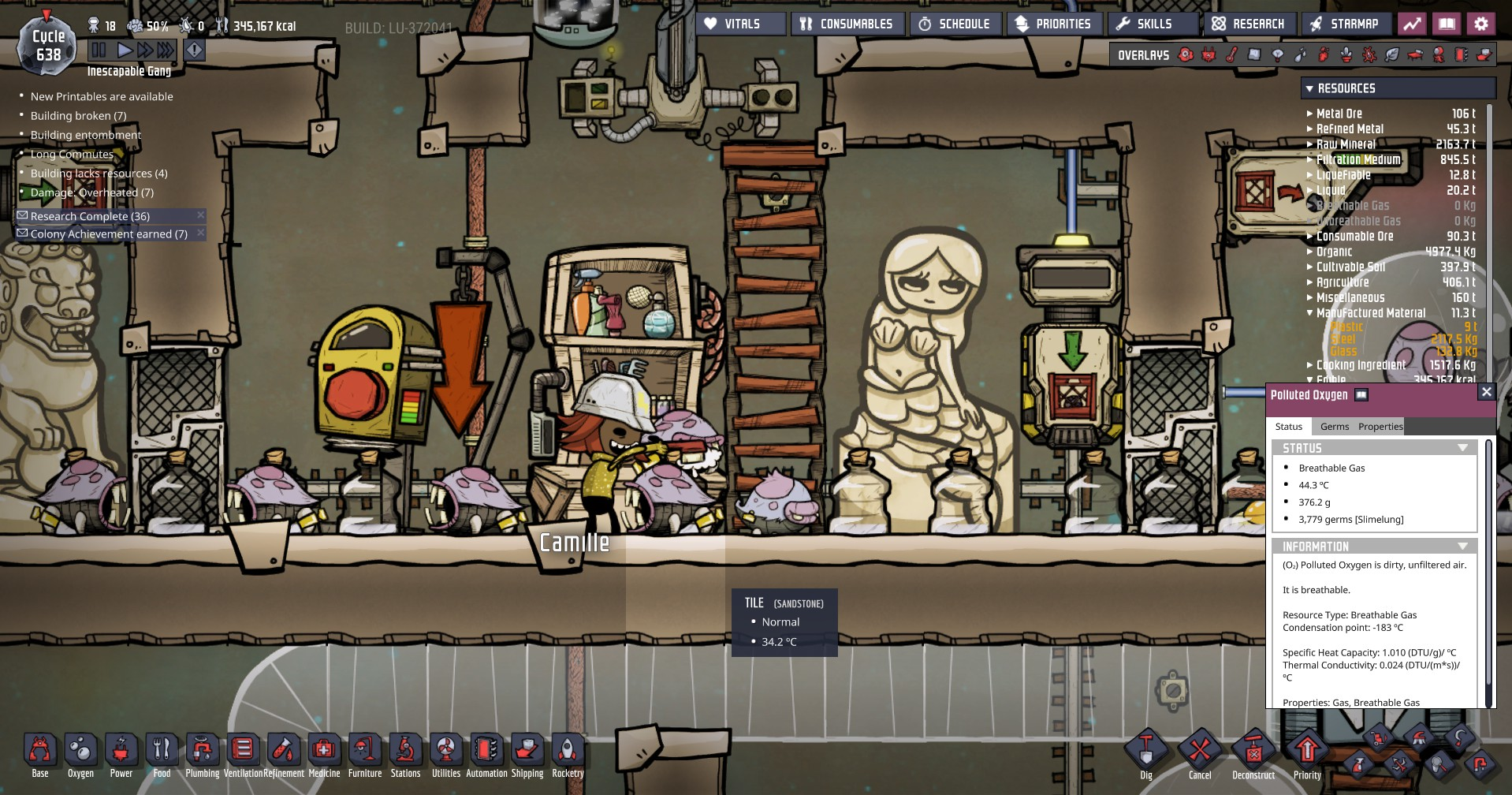 Oxygen Not Included: pet care