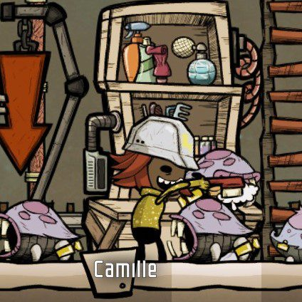 Oxygen Not Included pet grooming station