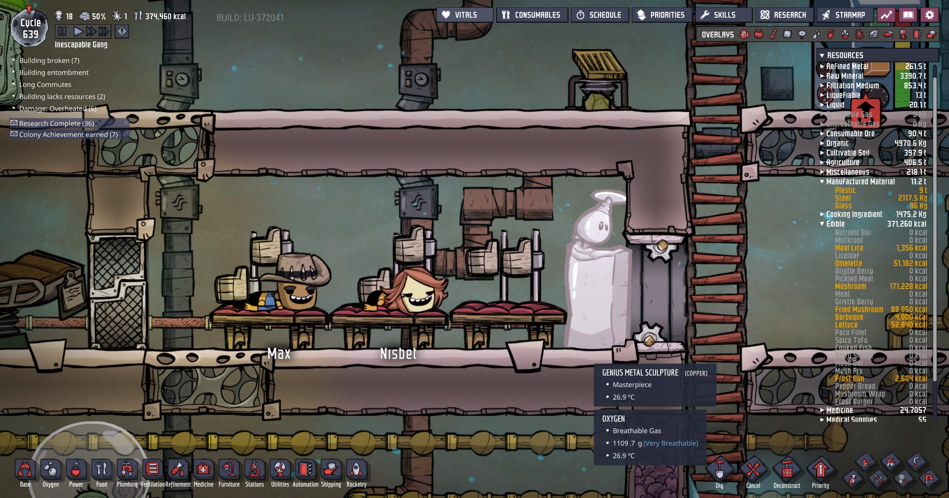 Oxygen Not Included: Spa Day
