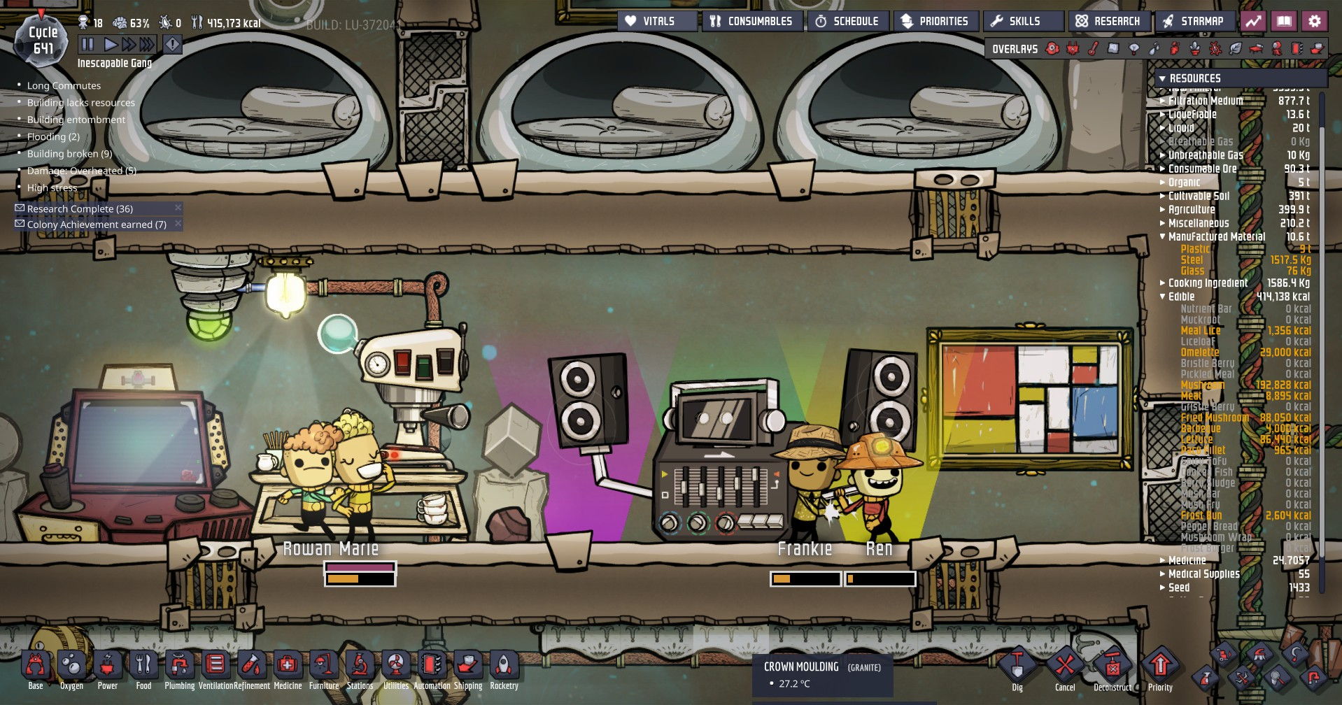 Oxygen Not Included: Space Disco