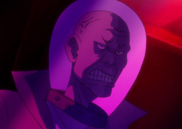 Even Uglier Villain Dude with a Fish Bowl Head