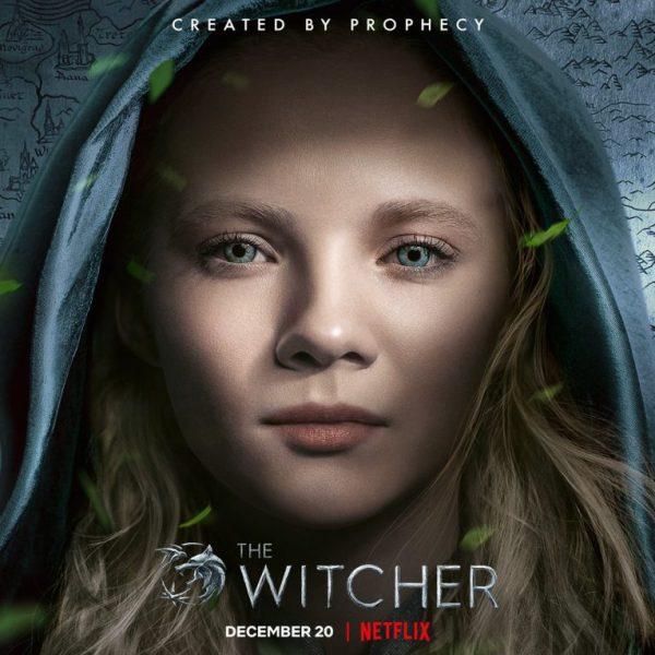 The Witcher - Freya Allen as Princess Ciri