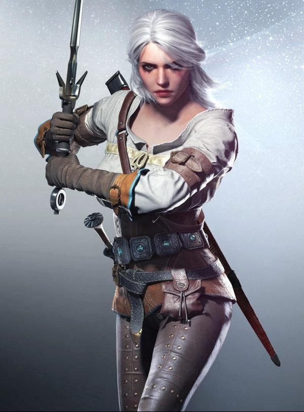 Ciri from Witcher 3