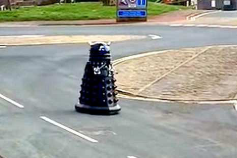 Official! Daleks order Humans to Self Isolate!