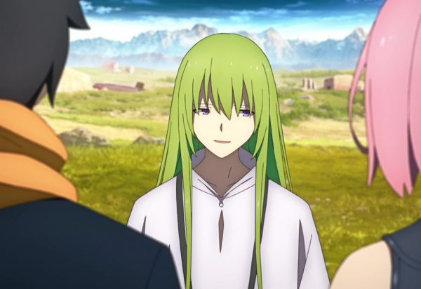 Fate Grand Order - Absolute Demonic Front Babylonia - 01-09 Chatting with the Girl with Green Hair