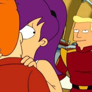 Futurama: S01E10: A Flight to Remember