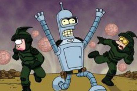Futurama: S02E17: War is the H Word