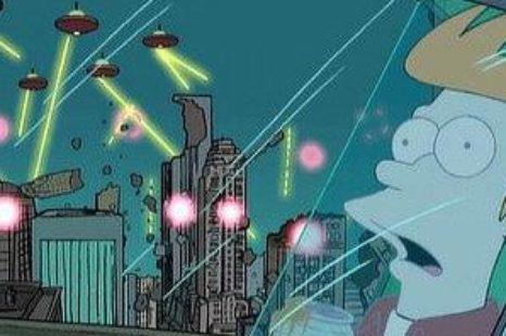 Futurama: S01E01: Space Pilot 3000