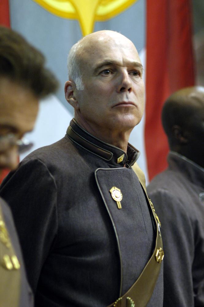 Battlestar Galactica: Personnel: Col. Saul Tigh