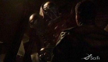 Battlestar Galactica: S02E02: Valley of Darkness