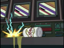 Futurama: S01E12: When Aliens Attack