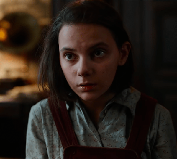 His Dark Materials - Lyra is played by Dafne Keen