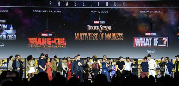 2019 Comic-Con - Marvel Studios star line up