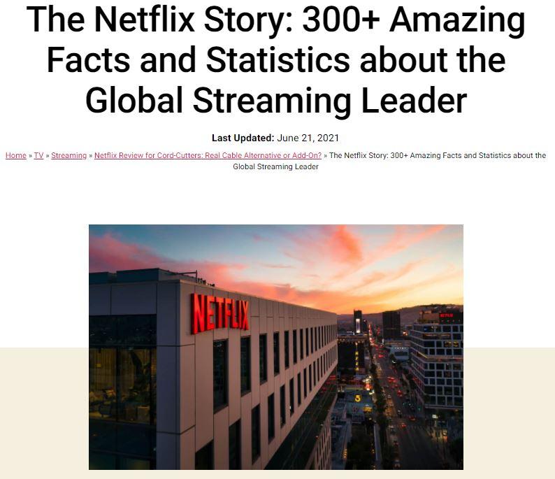 KillTheCableBill - Netflix article