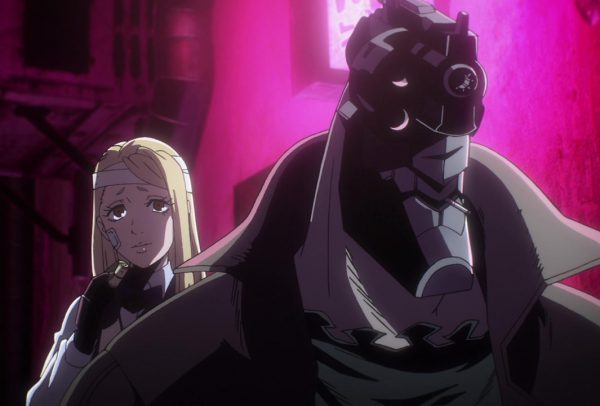 No Guns Life Episode Review - 01-02 Juuzo is offered a drink for his troubles