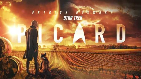 Recommended TV Shows 2020 Patrick Stewart Star Trek Picard Poster