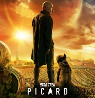 Star Trek Picard TV Show appearing on Amazon and CBS