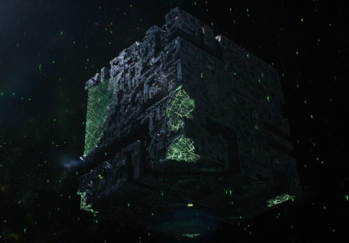 Star Trek Picard S01E02 - 04 Back on the Reclaimed Borg Cube