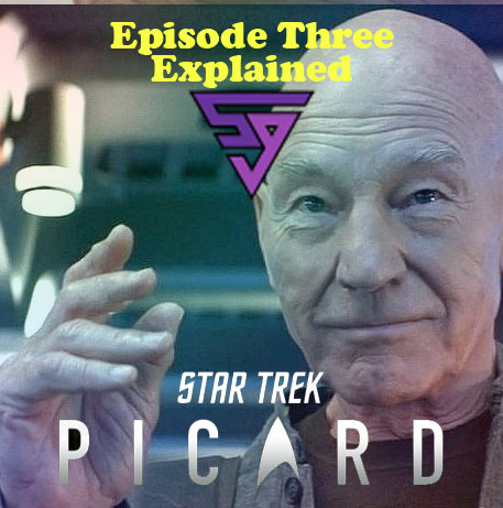 Star Trek Picard Logo The End is the Beginning