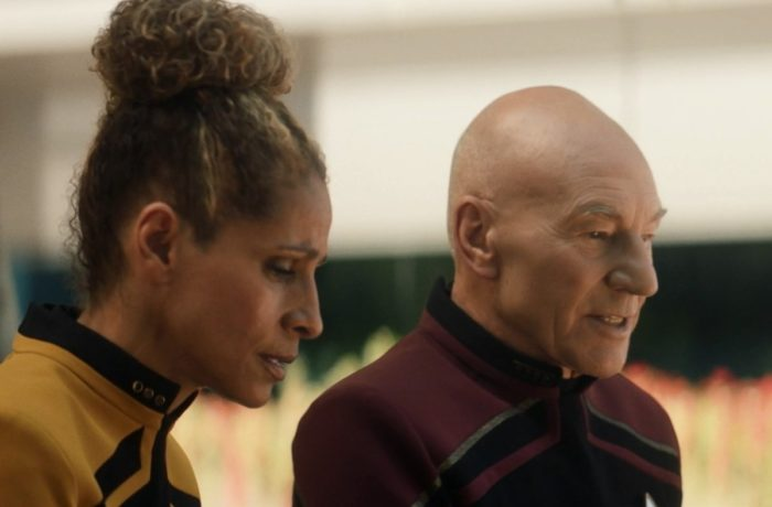 Star Trek Picard S01E03 - 02 Raffi and Picard Argue