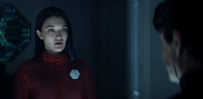 Star Trek Picard S01E03 - 03 Soji meets with the Director to See Rhamda