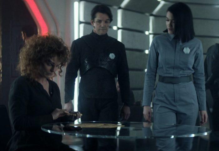 Star Trek Picard S01E03 - 05 Soji meets Rhamda