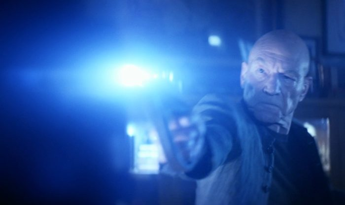 Star Trek Picard S01E03 - 06 Picard Shoots