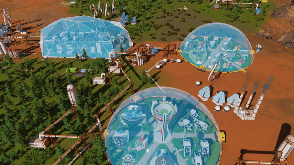Surviving Mars: Green Planet - end game screenshot