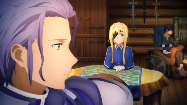 Sword Art Online - Alicization - War of Underworld - 01-09 Eldrie bids her farewell and leaves