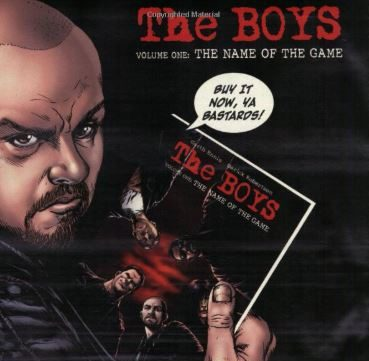 The Boys Comic Book Image