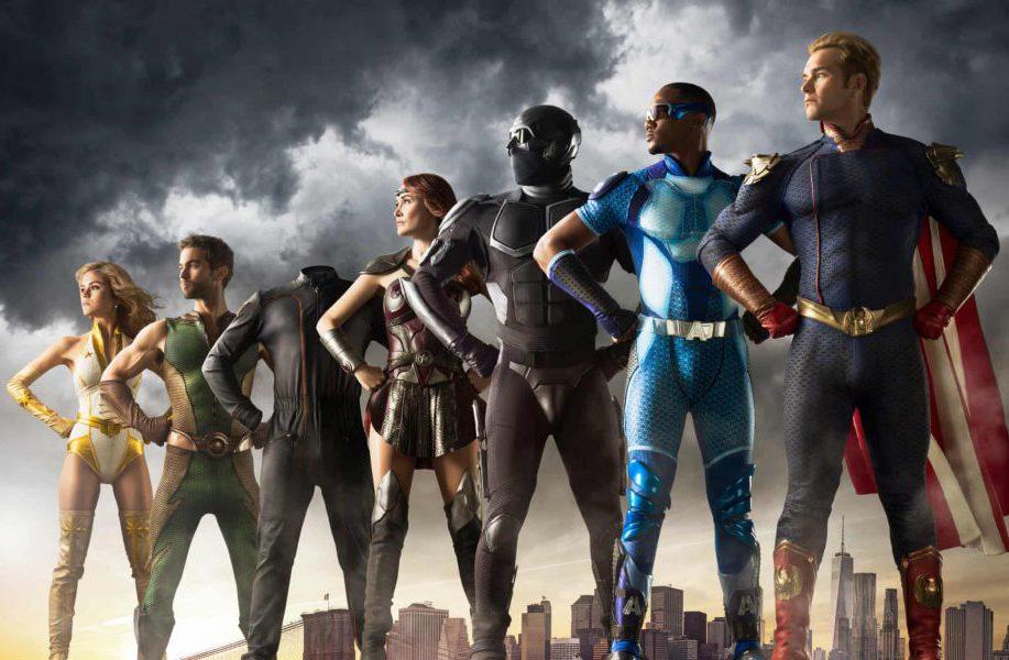 "Amazon Prime's. ""The Boys"" - Evil Superheroes, ""The Seven"""