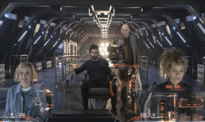 Star Trek Picard Crew