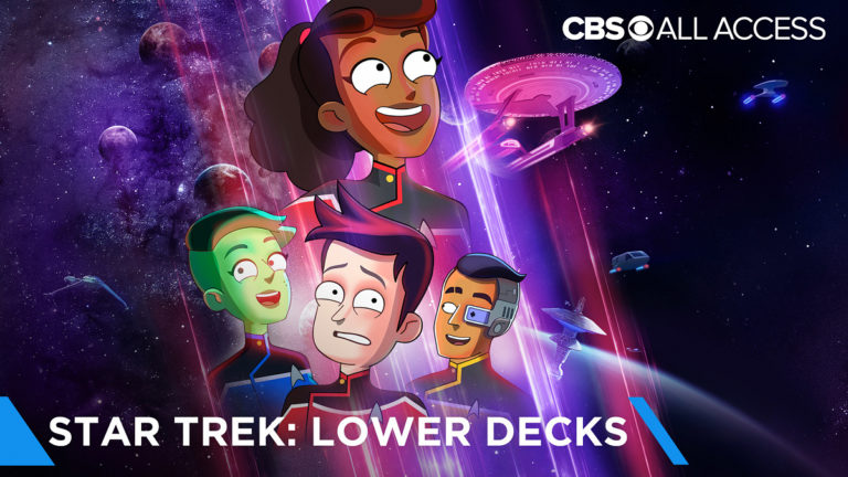 Star Trek: Lower Decks Review - Main CBS Poster Image