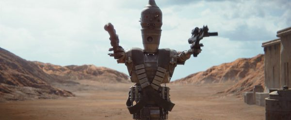 The Mandalorian S01E01 The eventual Good Baddie Robot Dude
