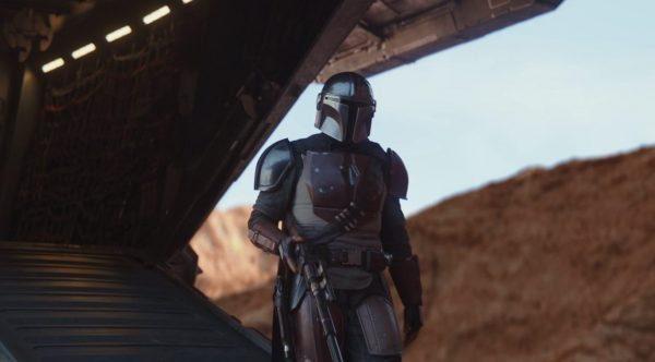 The Mandalorian Series Review S01E03 The Mandalorian walks around a bit - but he looks cool right