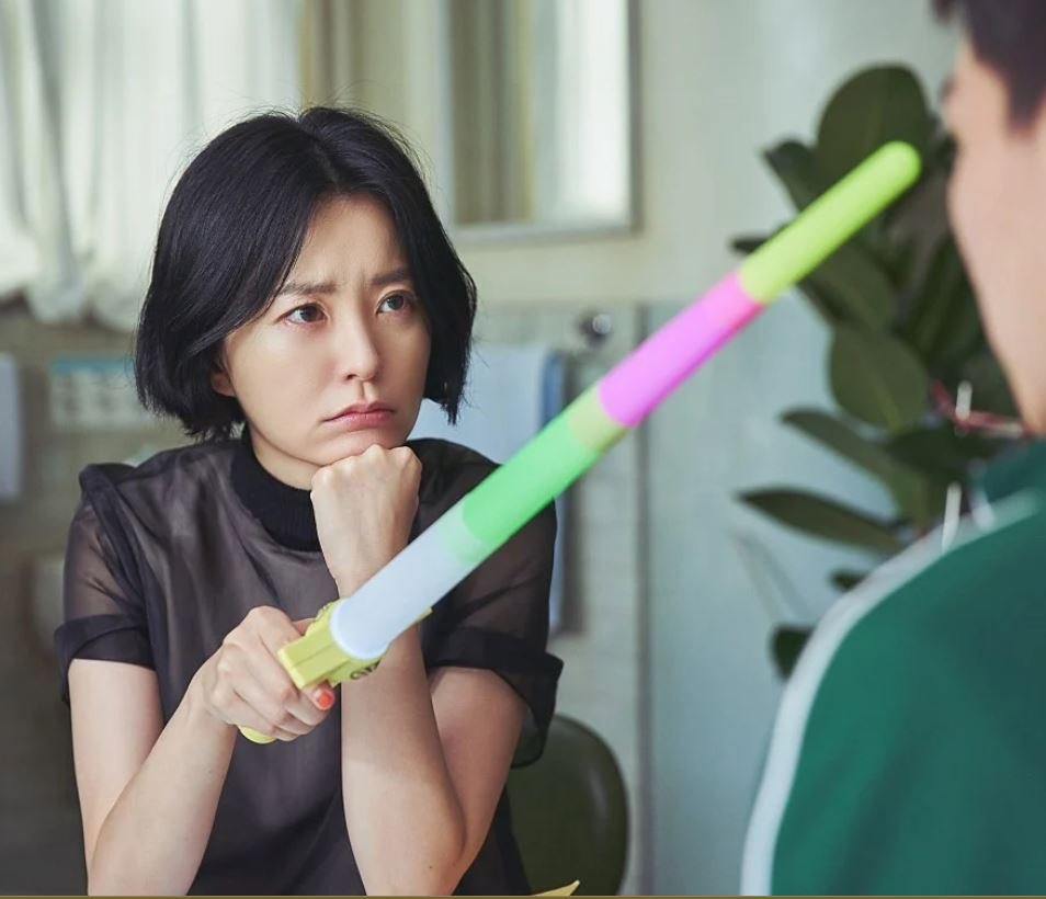 Jung Yu-mi in a still from The School Nurse Files