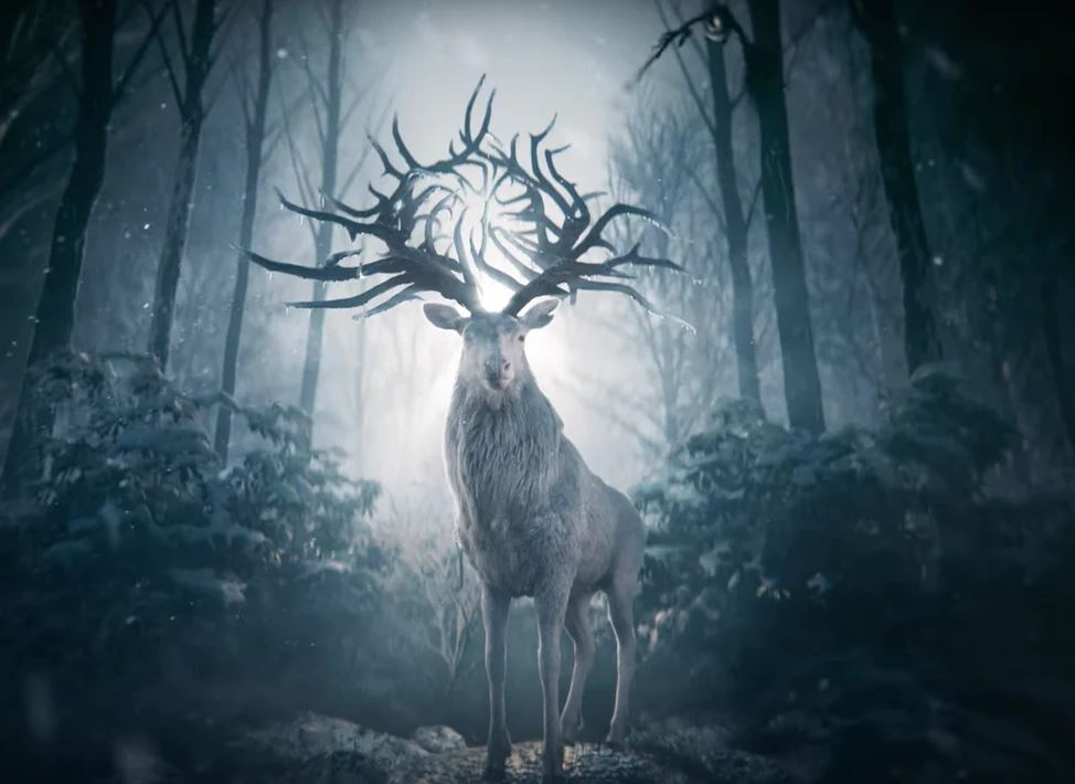 The Stag from Shadow & Bone