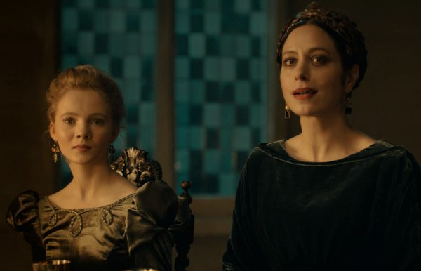 Princess Ciri and Queen Calanthe