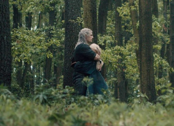 Geralt finally meets Ciri