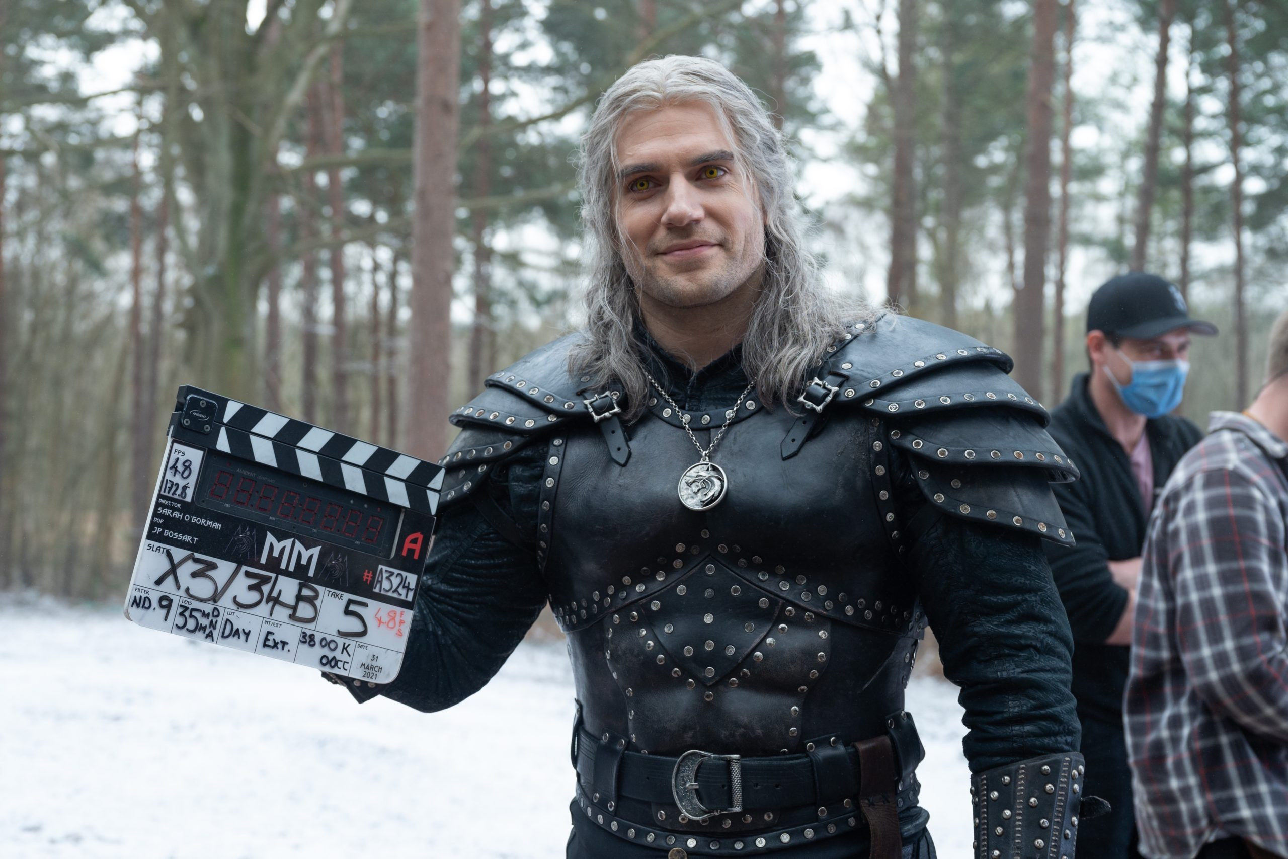 Witcher Season Two - Henry Cavill, end of shooting