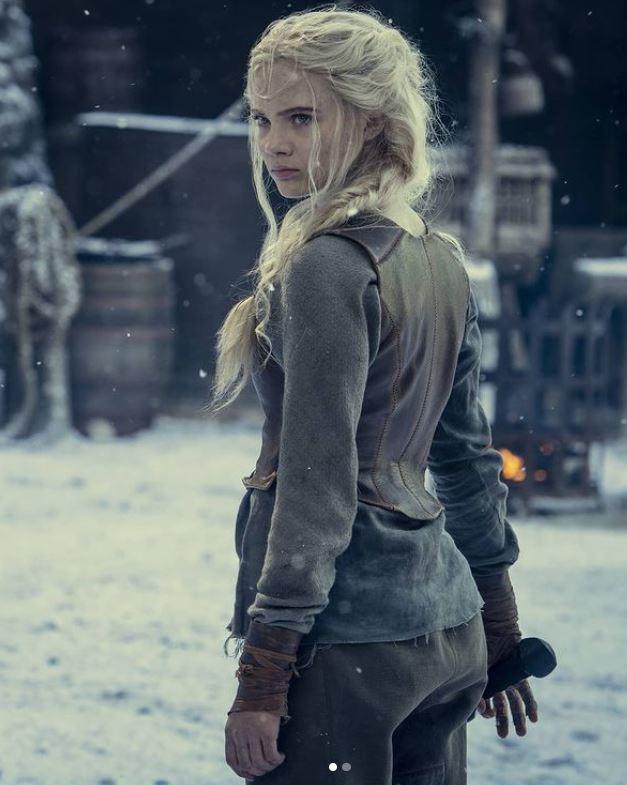 Witcher Season Two - Princess Ciri (Pic courtesy of Netflix)