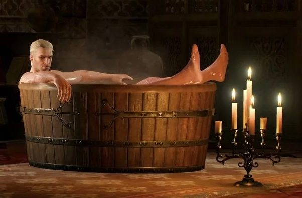 Witcher - The Legendary Tub Geralt