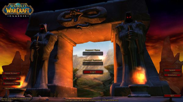 World of Warcraft Classic release date 27th August 2019
